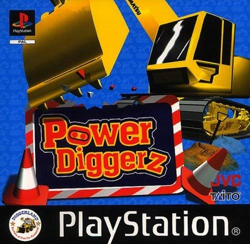 Game | Sony Playstation PS1 | Power Diggerz