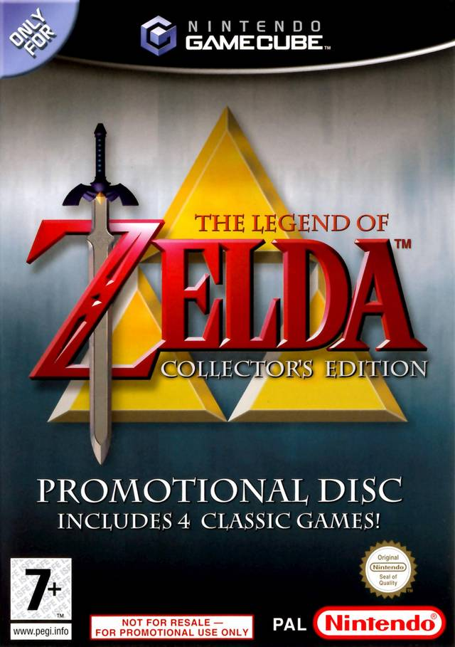 Game | Nintendo GameCube | The Legend of Zelda Collector's Edition