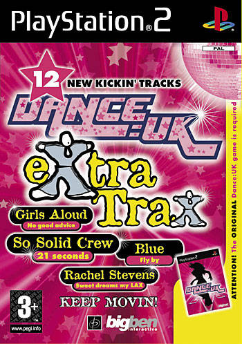 Game | Sony Playstation PS1 | Dance UK Extra Trax
