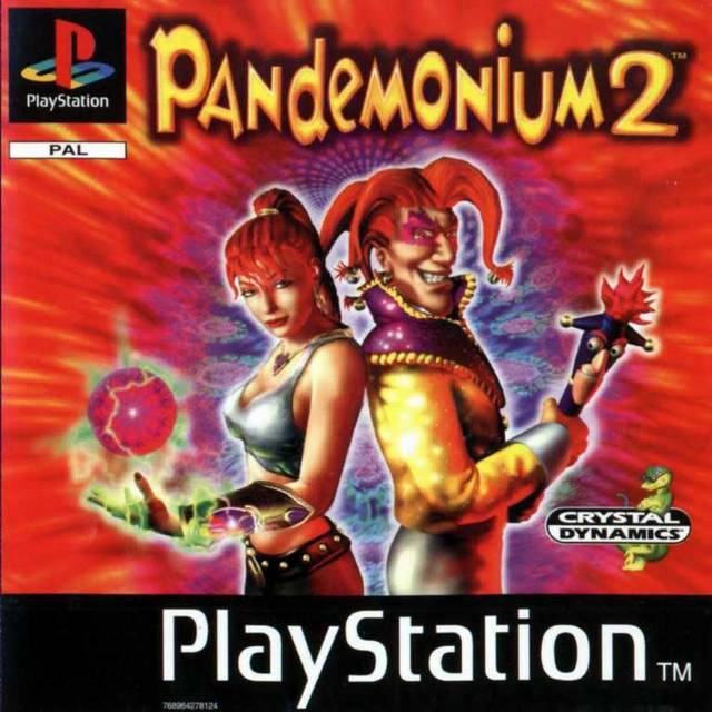 Game | Sony Playstation PS1 | Pandemonium 2