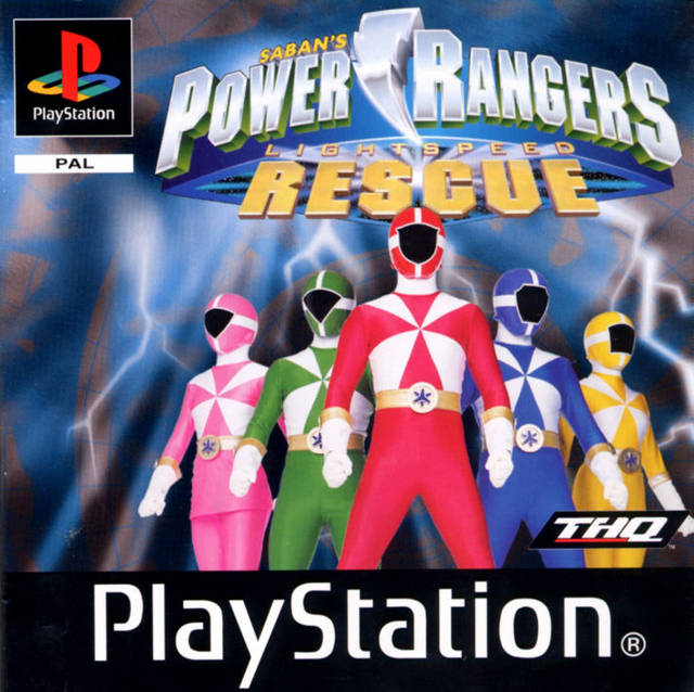Game | Sony Playstation PS1 | Power Rangers Lightspeed Rescue