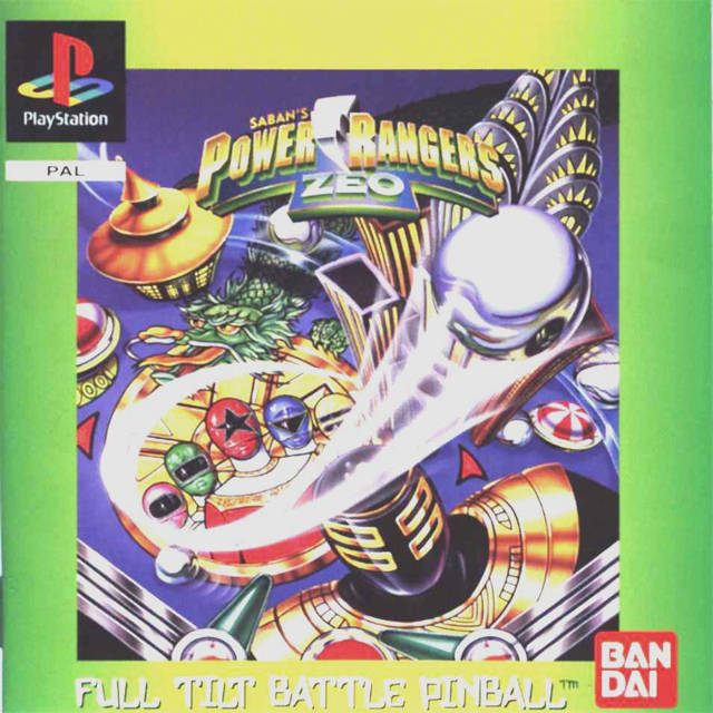 Game | Sony Playstation PS1 | Power Rangers Zeo Full Tilt Battle Pinball