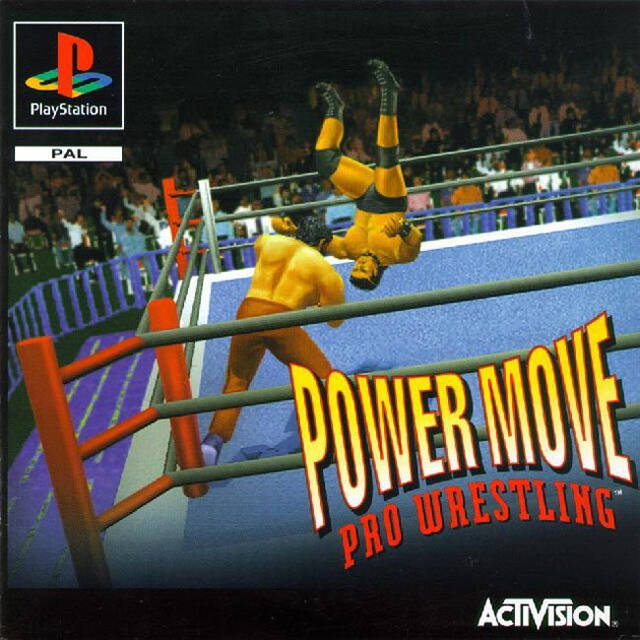 Game | Sony Playstation PS1 | Power Move Pro Wrestling