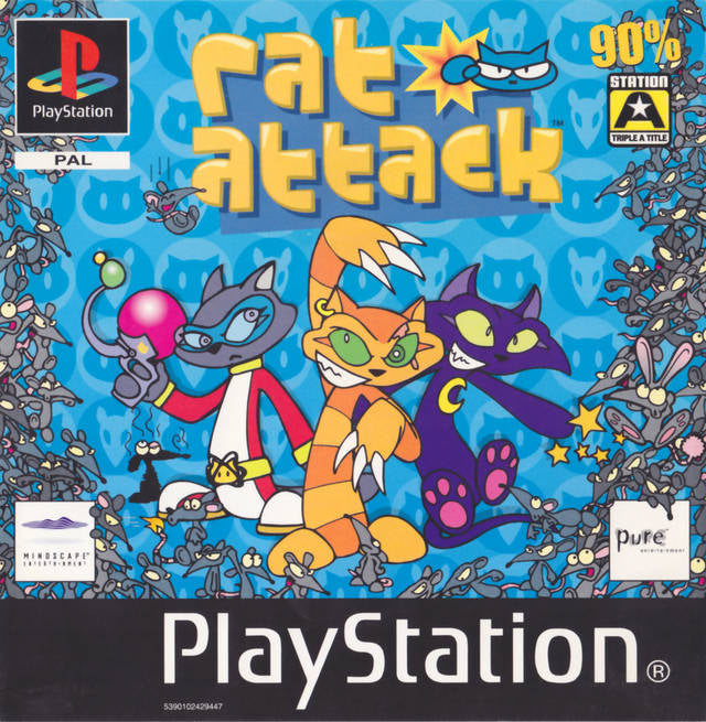 Game | Sony Playstation PS1 | Rat Attack