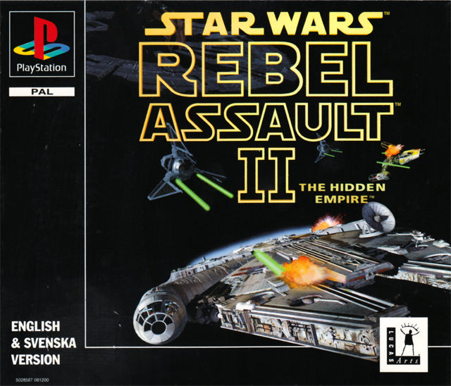 Game | Sony Playstation PS1 | Star Wars Rebel Assault II The Hidden Empire