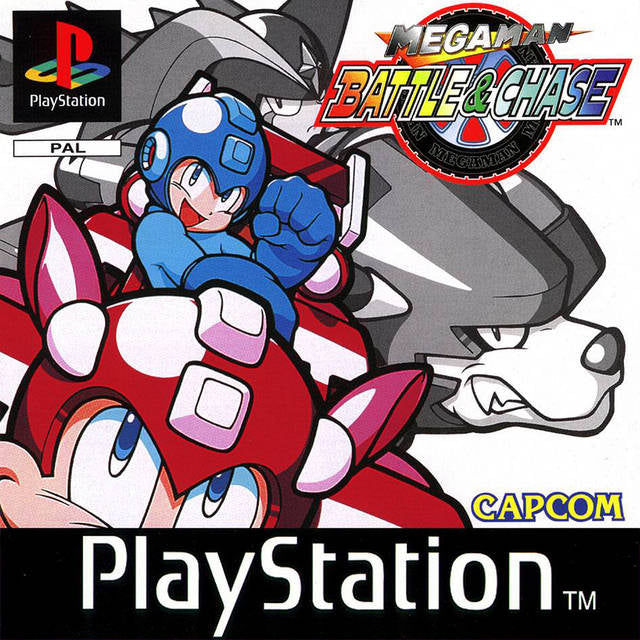 Game | Sony Playstation PS1 | Mega Man Battle & Chase