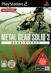Game | Sony Playstation PS2 | New Metal Gear Solid 3: Subsistence boxed set NTSC-J Japan Import