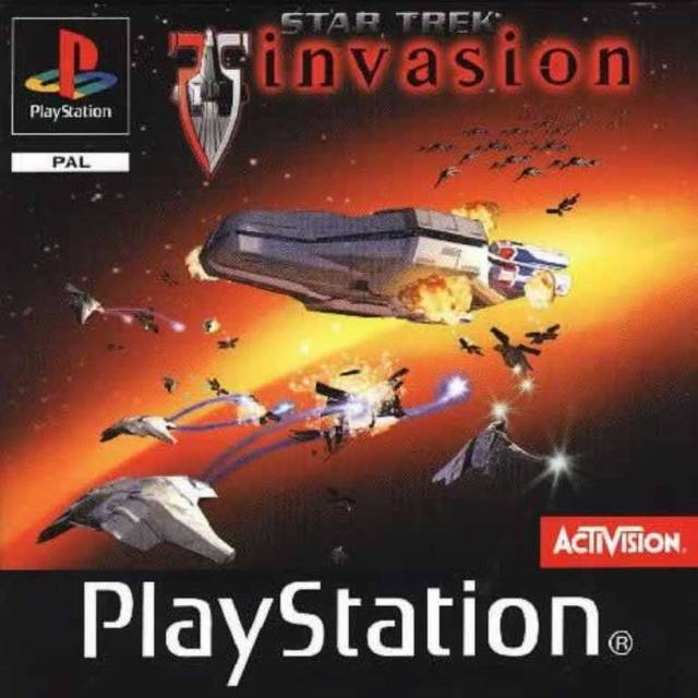 Game | Sony Playstation PS1 | Star Trek Invasion