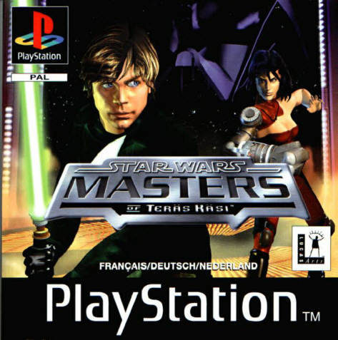 Game | Sony Playstation PS1 | Star Wars Masters Of Teras Kasi