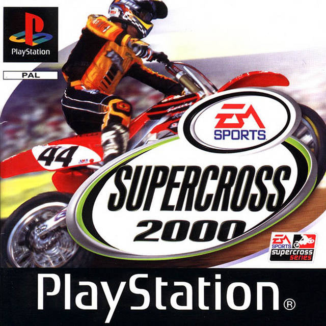 Game | Sony Playstation PS1 | Supercross 2000