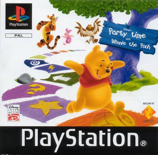 Game | Sony Playstation PS1 | Party Time With Winnie The Pooh