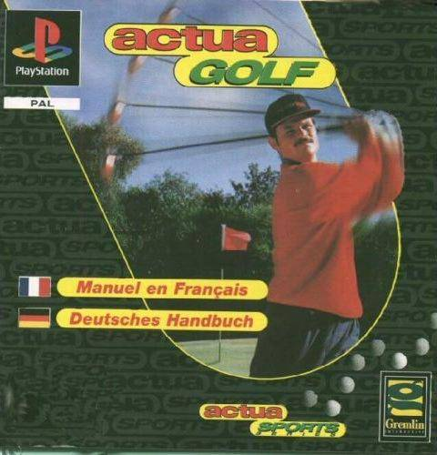 Game | Sony Playstation PS1 | Actua Golf