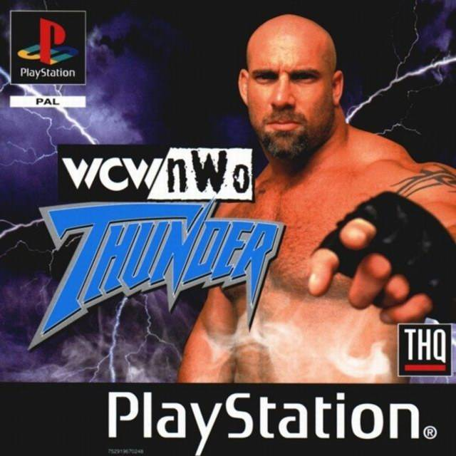 Game | Sony Playstation PS1 | WCW NWo Thunder