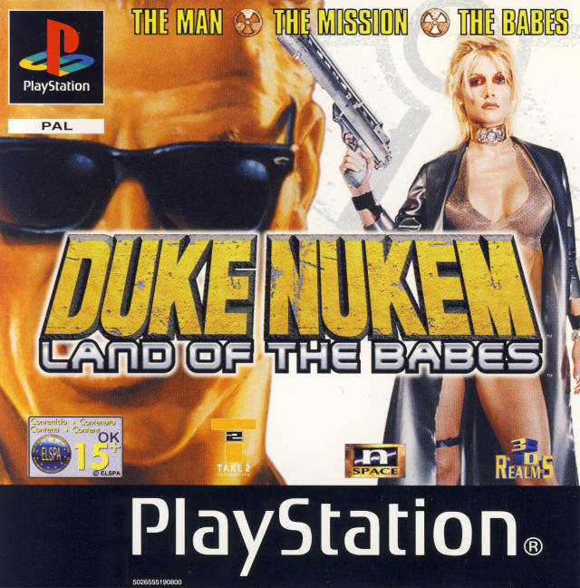 Game | Sony Playstation PS1 | Duke Nukem Land Of The Babes