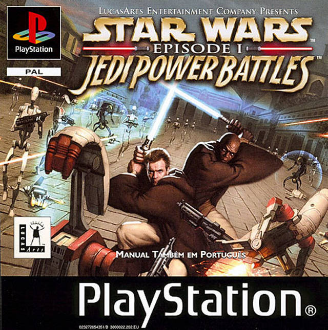 Game | Sony Playstation PS1 | Star Wars Episode I Jedi Power Battles