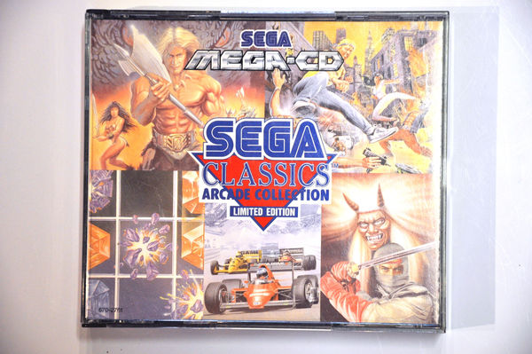 Game | SEGA Mega CD | Sega Classics Arcade Collection Limited Edition