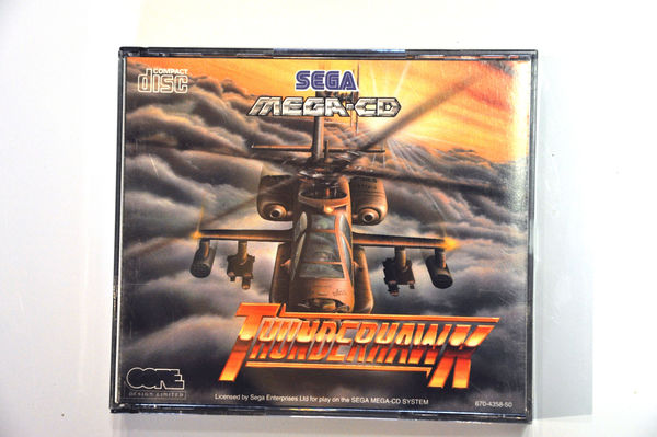 Game | SEGA Mega CD | Thunderhawk