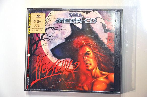Game | SEGA Mega CD | Wolfchild