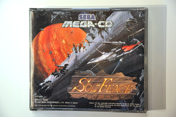 Game | SEGA Mega CD | Sol-Feace / Cobra Command