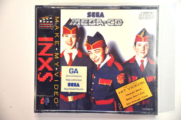 Game | SEGA Mega CD | INXS Michael Hutchence