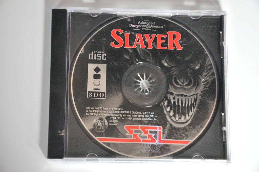 Game | 3DO | Slayer