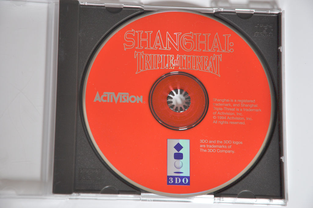 Game | 3DO | Shanghai: Triple Threat