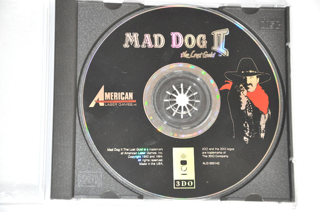 Game | 3DO | Mad Dog II: The Lost Gold
