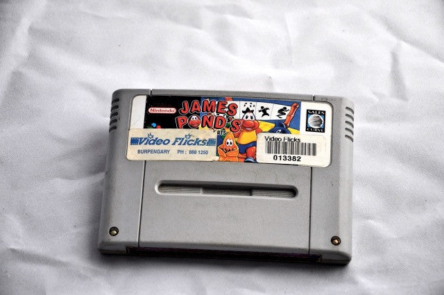 Game | Super Nintendo SNES | James Pond's Crazy Sports PAL - retrosales.com.au