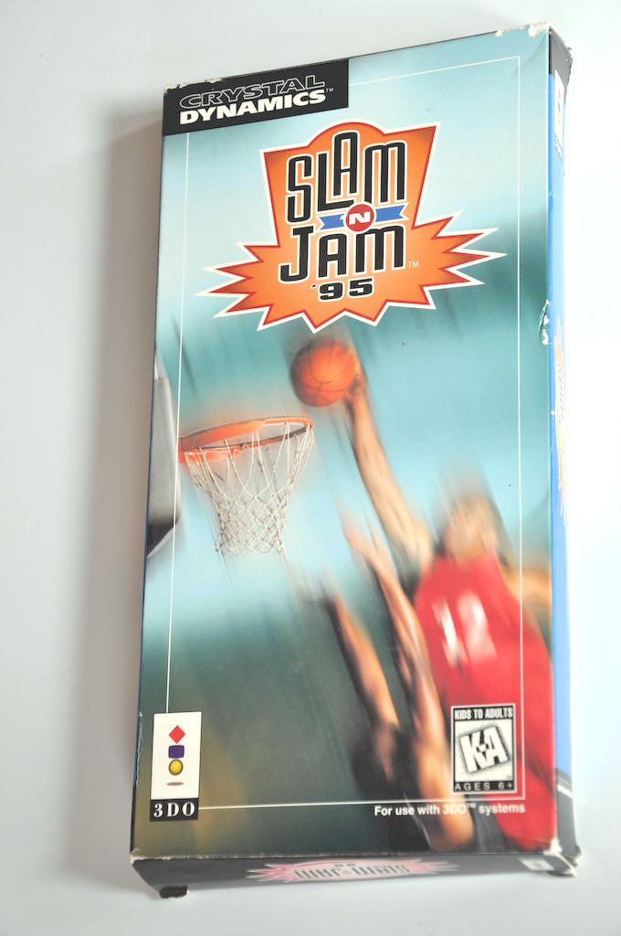Game | 3DO | Slam n Jam 95