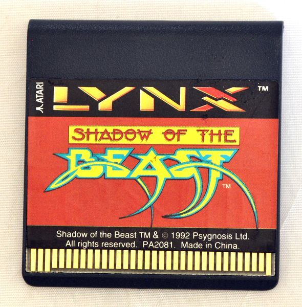 Game | Atari Lynx | Shadow of the Beast