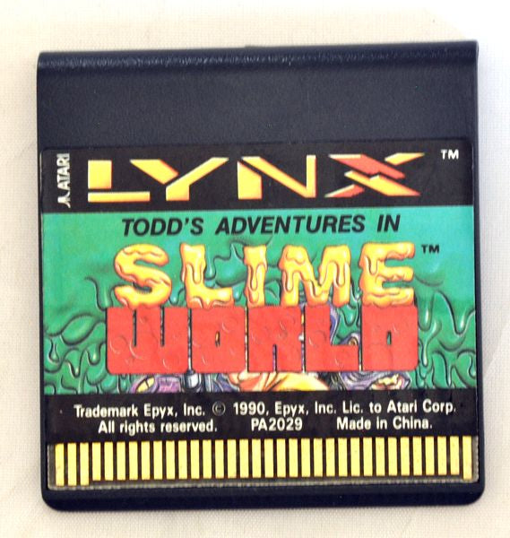 Game | Atari Lynx | Todd's Adventures in Slime World