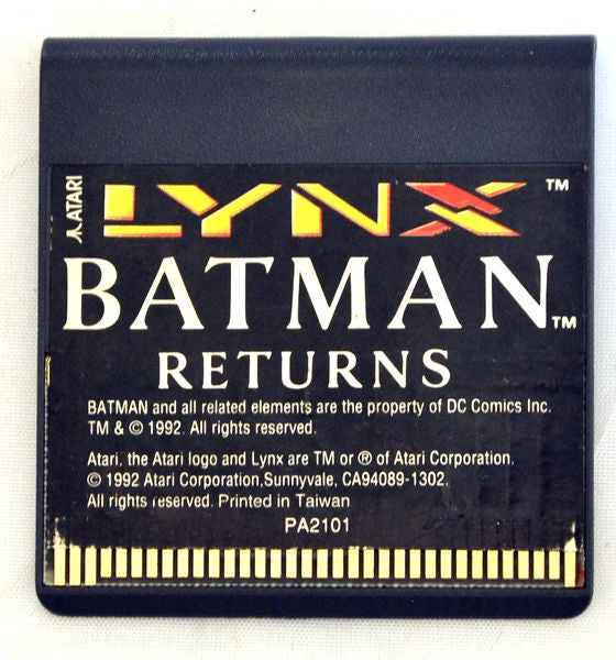 Game | Atari Lynx | Batman Returns