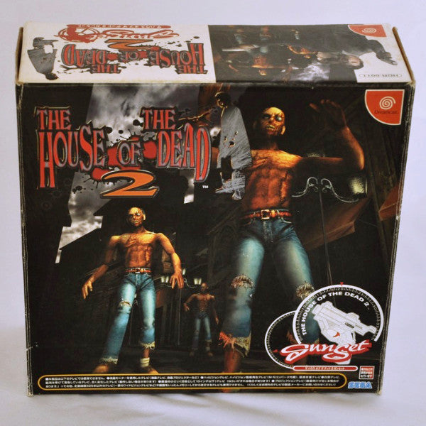 Game | SEGA Dreamcast | House Of The Dead 2 Gunset Boxed HDR-0011 - retrosales.com.au - 1