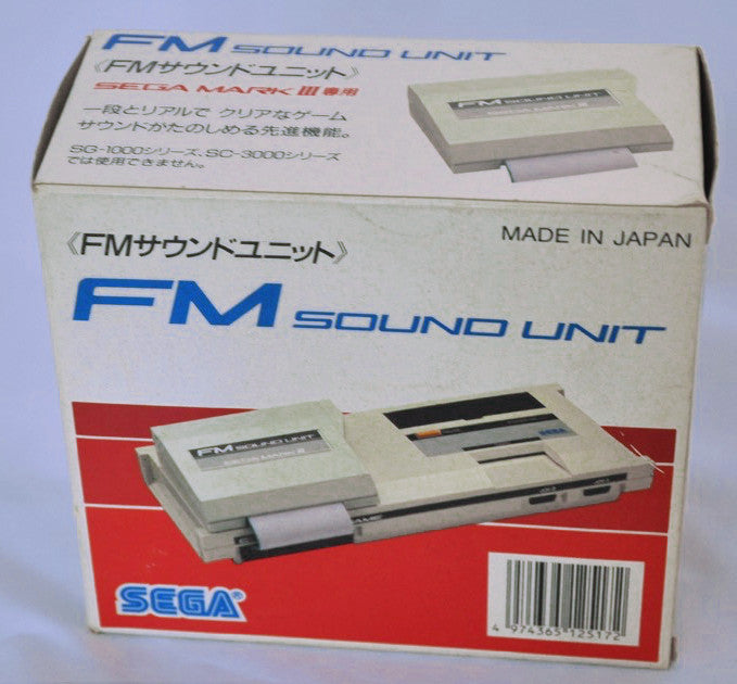 SEGA Mark III FM Sound Unit in box
