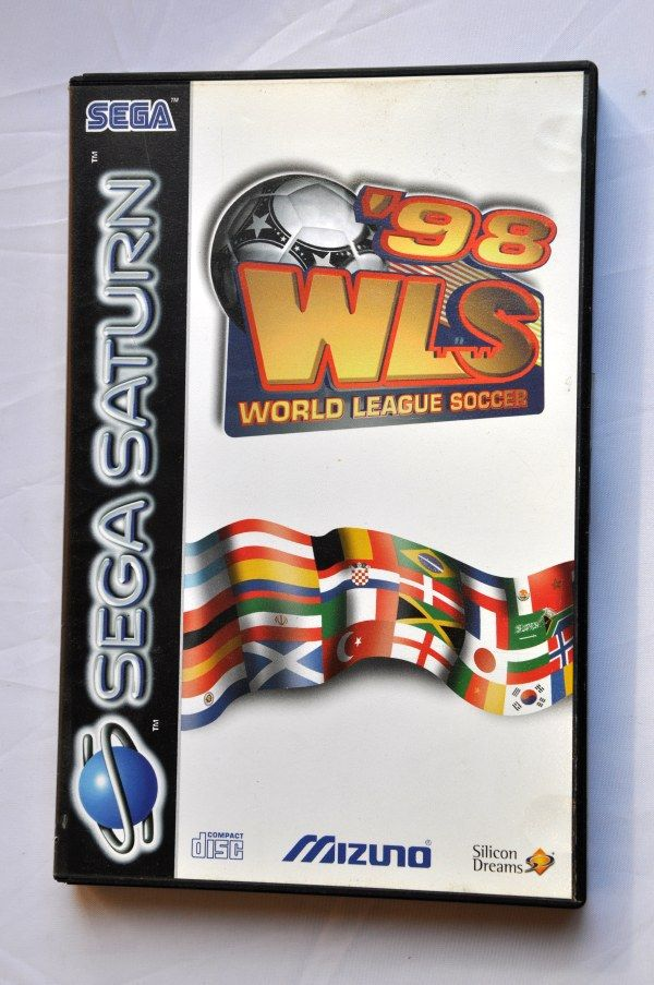 Game | SEGA Saturn | '98 WLS World League Soccer Complete CIB