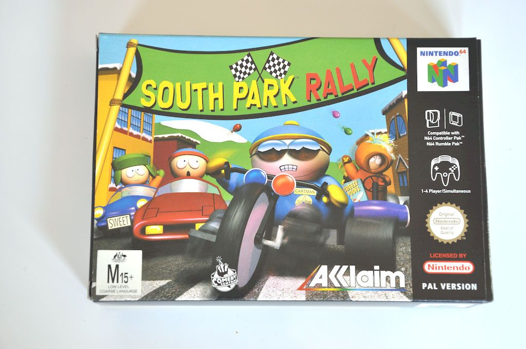 Game | Nintendo 64 N64 | South Park Rally