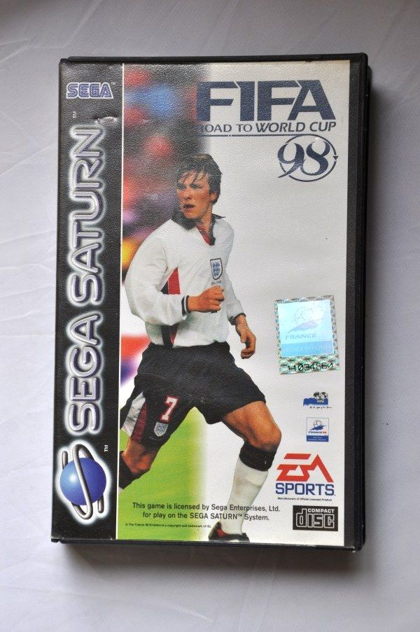 Game | SEGA Saturn | Road To World Cup 98 Complete CIB