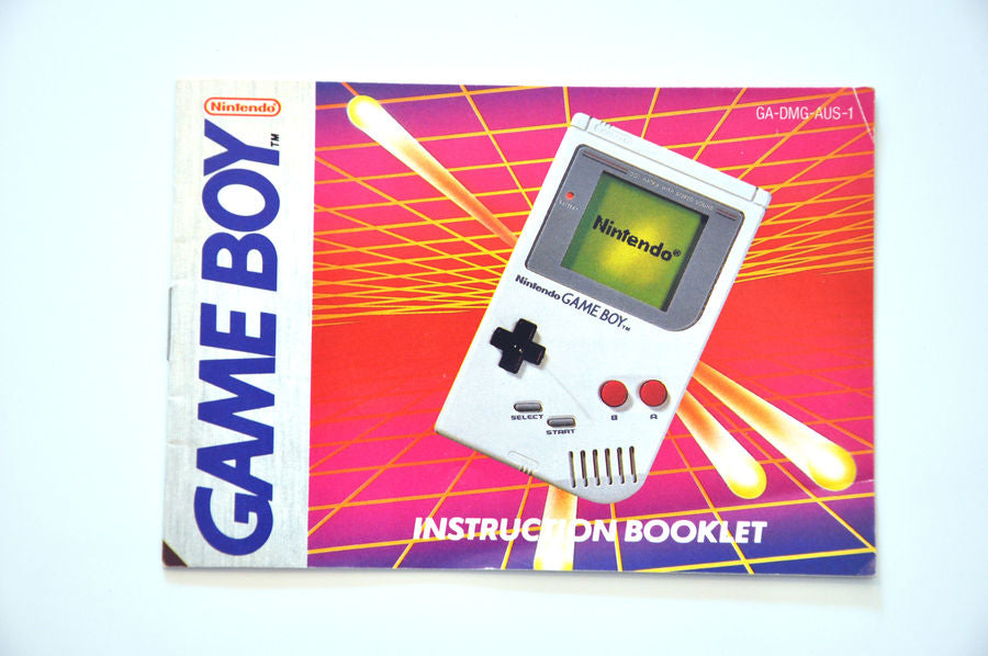Manual | Nintendo Game Boy | Replacement Instruction Manuals Book
