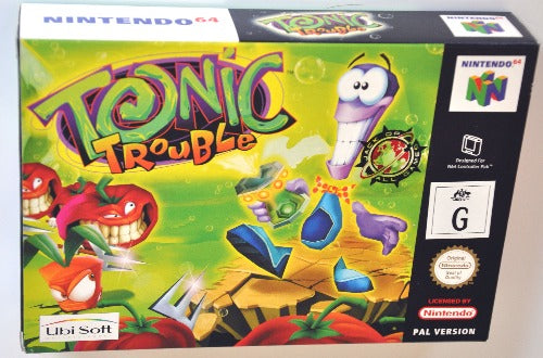Game | Nintendo 64 N64 | Tonic Trouble