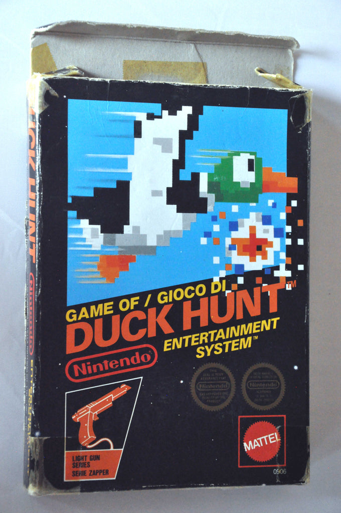 Game | Nintendo NES | Duck Hunt PAL boxed complete cib