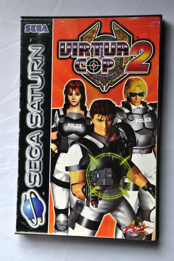 Game | SEGA Saturn - Virtua Cop 2 PAL