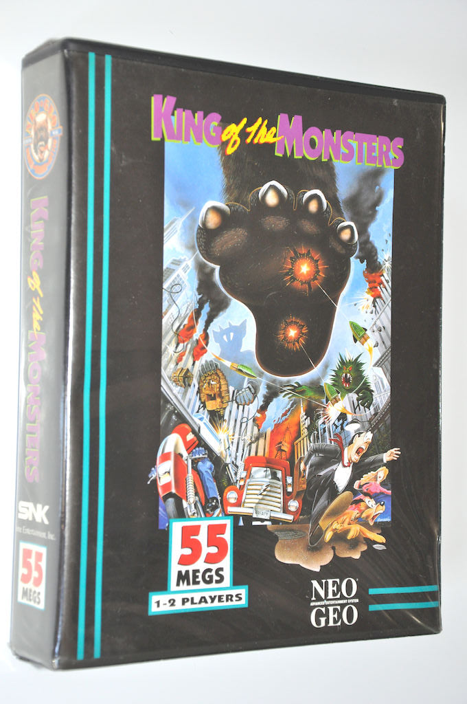 Game | NEO GEO AES | King of the Monsters