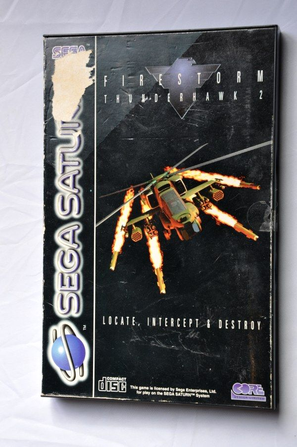 Game | SEGA Saturn | Firestorm Thunderhawk 2 Complete CIB