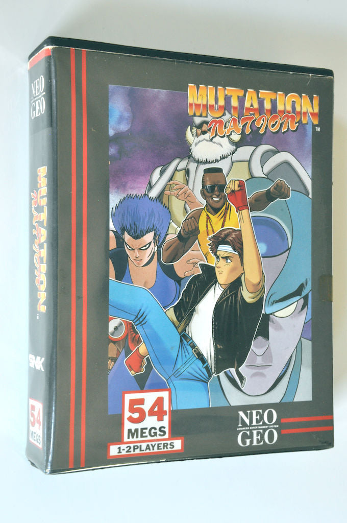 Game | NEO GEO AES | Mutation Nation