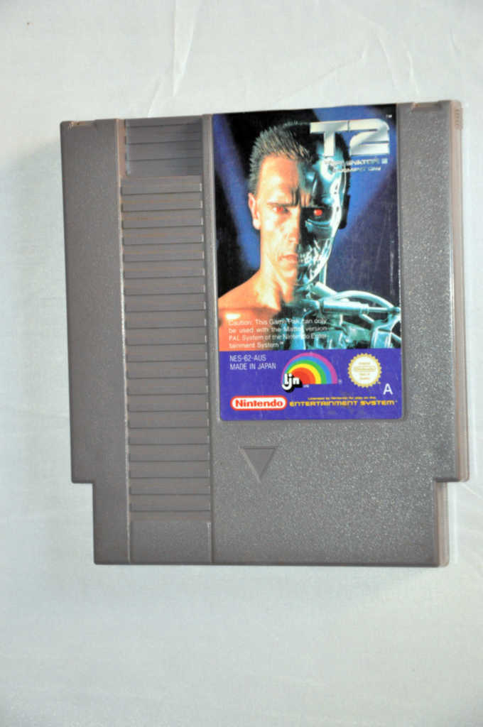 Game | Nintendo NES | T2 Terminator 2 Judgment Day
