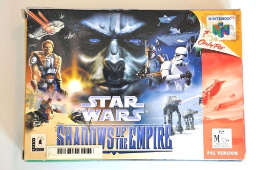 Game | Nintendo 64 N64 | Star Wars Shadows Of The Empire