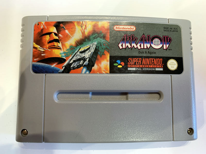 Game | Super Nintendo SNES | Akkanoiv