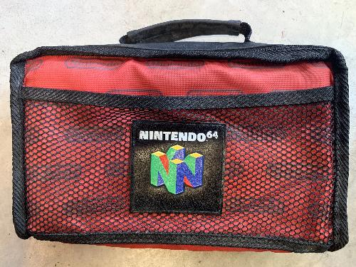 Accessory | Nintendo 64 | Game Carry Case Travel Bag