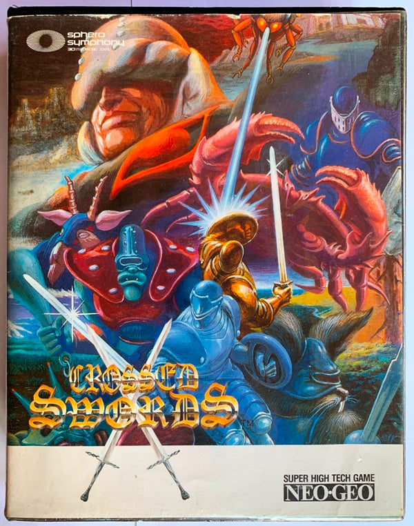 Game | NEO GEO AES | Crossed Swords