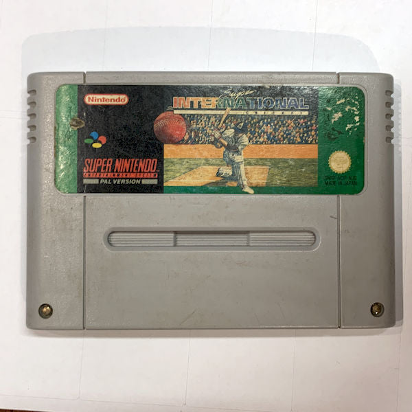 Game | Nintendo SNES | Super International Cricket
